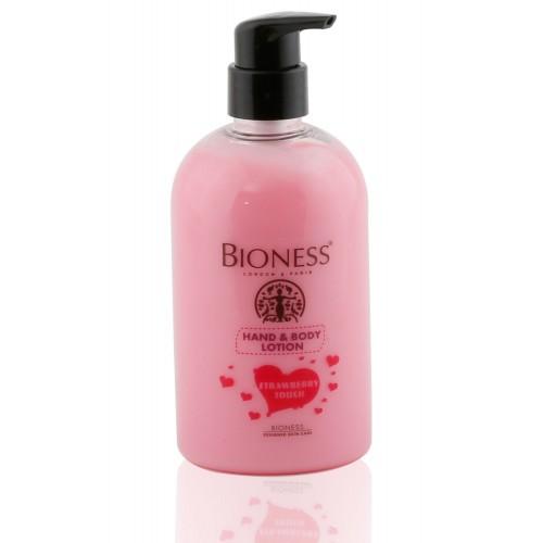 BİONESS Hand Body Lotion Starwberry Touch El ve Vücut Temizleyeci Losyon 500 ml